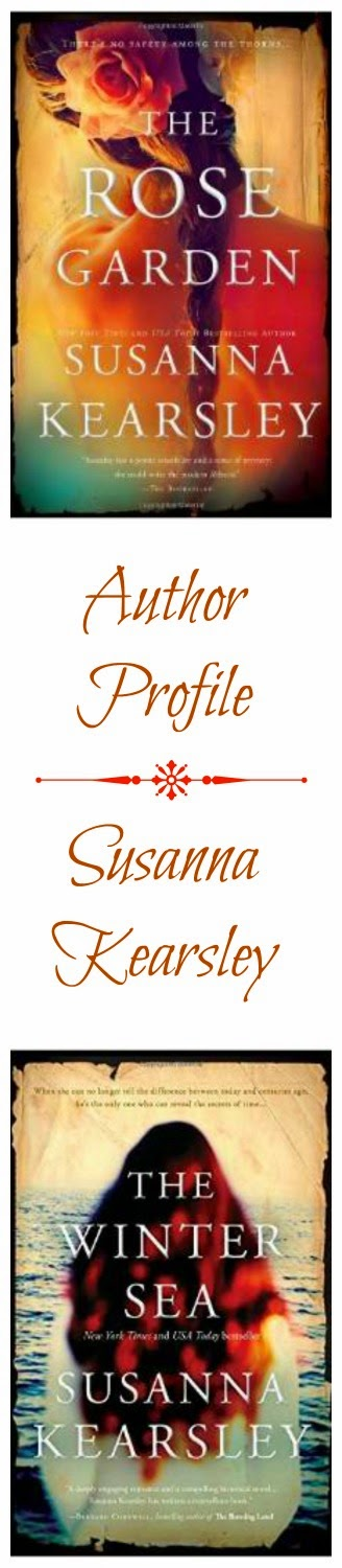 Quirky Bookworm: Author Profile: Susanna Kearsley. Here I'm profiling all the books of one of my recent favorite authors - they're a great blend of historical fiction and romance, with a slight paranormal twist.