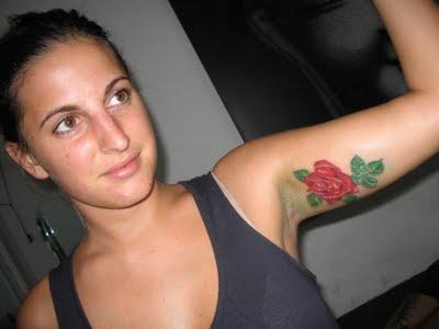 Fotos de Tatuagens femininas de rosas