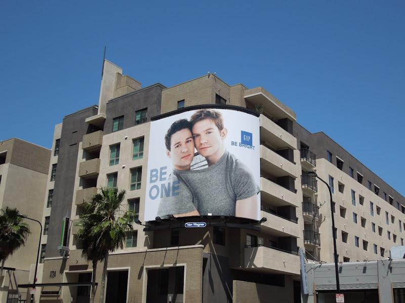 Be One Gap billboard