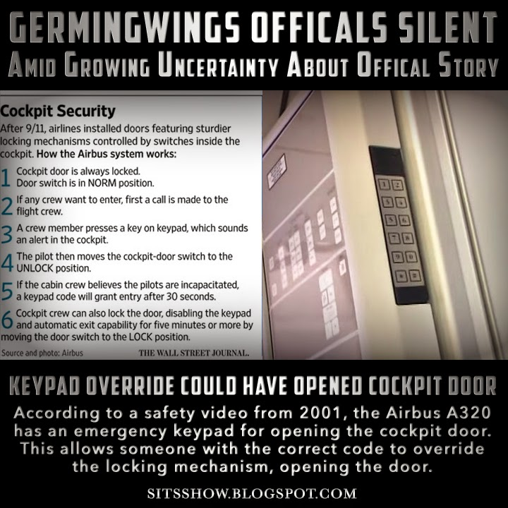 KeyPad Override Could Have Opened Cockpit Door | Germingwings 9525 Officials Silent Amid Growing Uncertainty About Official Story Germenwings%2BKeypad%2BMEME