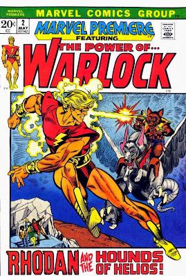 Marvel Premiere #2, Warlock, Rhodan