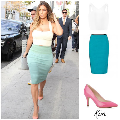 kim kardashian fashion outfit in the style of