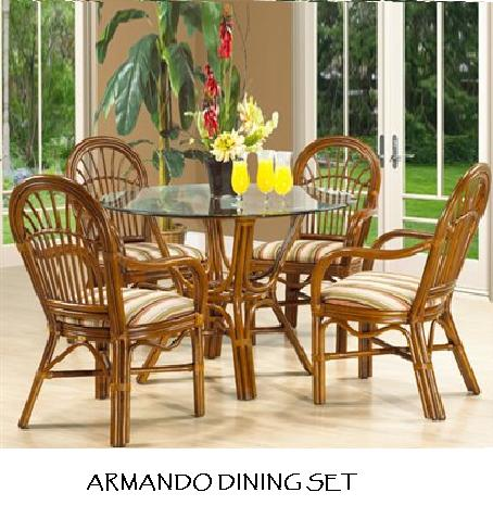 Manufacturer of wicker and rattan chairs from indonesia rattan dining room chair - Bamboo dining room furniture ...