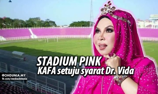 Stadium 'Pink' Kelantan jadi kenyataan, KAFA setuju syarat Dr. Vida