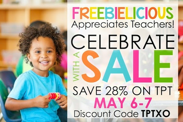 Save 28% on all Kinder-Craze products on TpT!