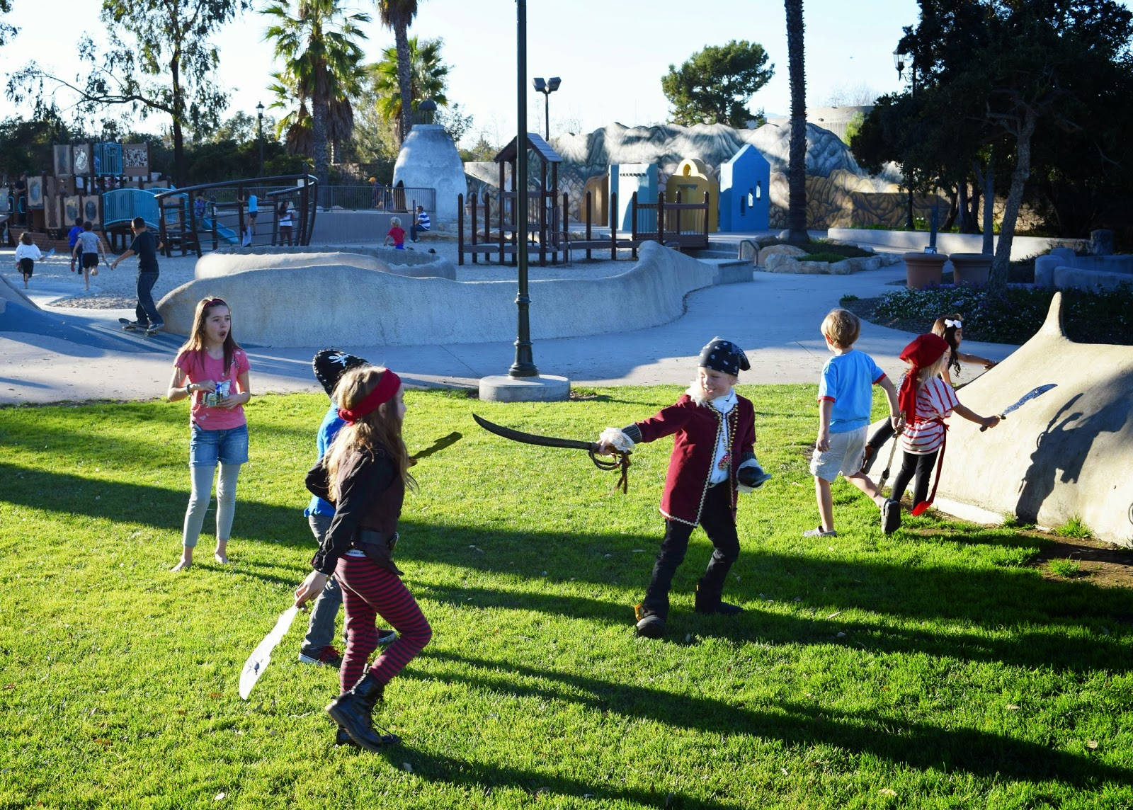 Pirate Party Sword Fight