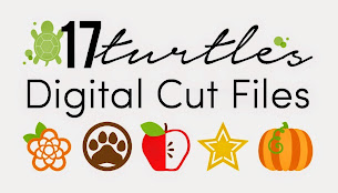 January Sponsor ~ 17turtles Digital Cut Files