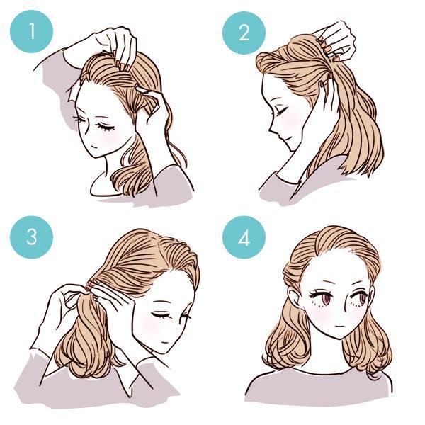 Прически на короткие волосы быстро и легко
