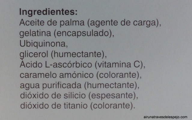 ingredientes active complex q10 gold