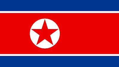 Gambar bendera negara korea utara