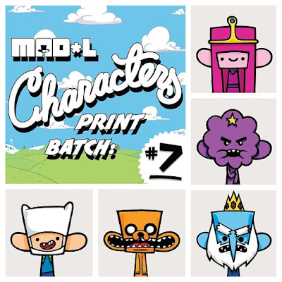 Mad*l Characters Print Series Adventure Time Themed Batch 7 by MAD - Fin, Jake, Princess Bubblegum, Ice King & Lumpy Space Princess