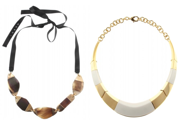 Necklaces/Collane Marni, Vionnet