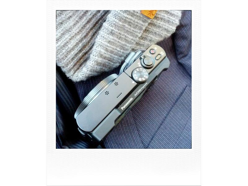 Le ghiere di controllo della Panasonic TZ70 - ZS50