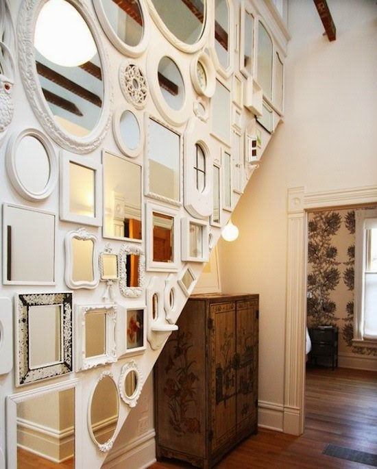 full length and large wall mirror ideas - Large Wall Design Ideas