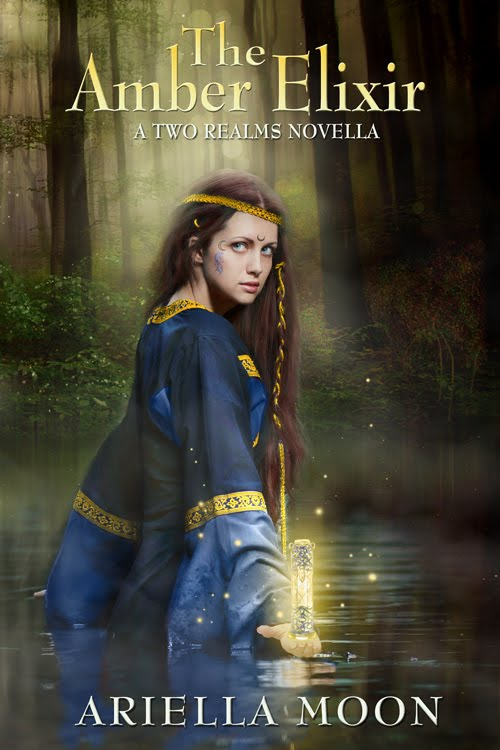 The Amber Elixir, A Two Realms Novella #1
