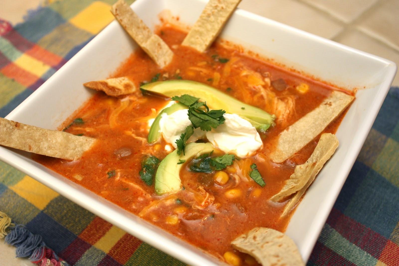 Meet the Sullivans : Slow Cooker Chicken Tortilla Soup