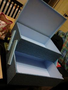 Caja deslizable tipo costurero