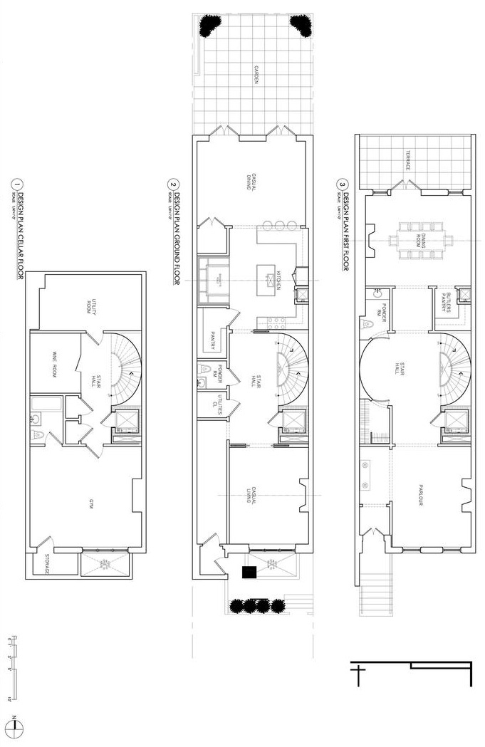 best small row house plan joy studio design gallery