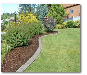 Edging design ideas lawn edging for Ideas for garden borders designs