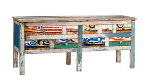 Artlantique, muebles barcos reciclados