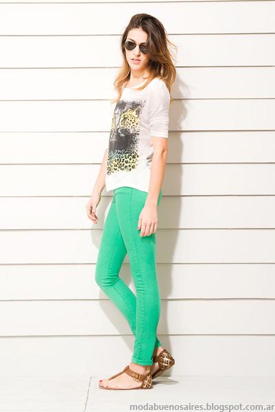 Moda 2014. Wupper verano 2014 ropa de mujer pantalones.
