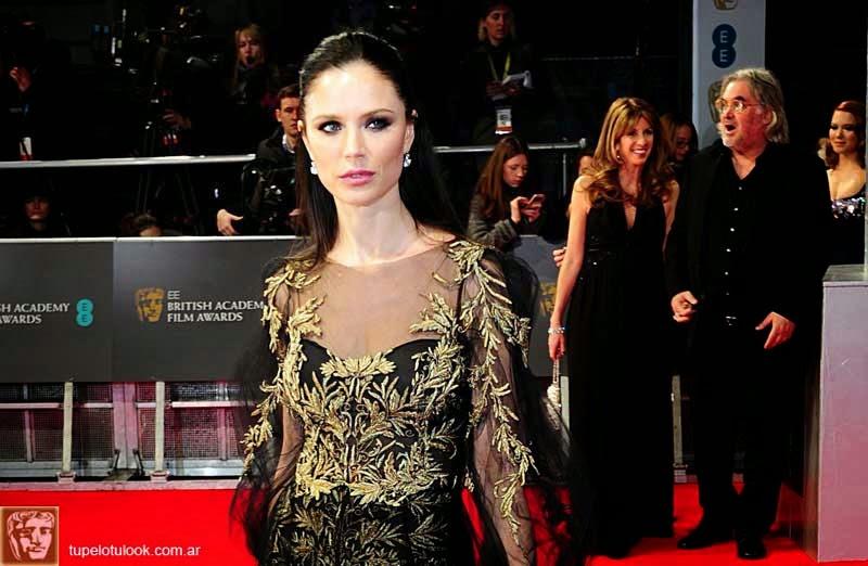 cortes de pelo largo 2014 premios BAFTA