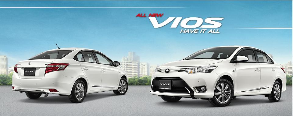 Toyota Vios 1.5S (4A/T) – 734,000 THB (RM77,597.75)