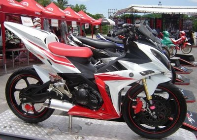 Modifikasi Jupiter Mx New 2012