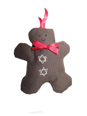 christmas, sewn, handmade, decorations, hearts,gingham, machine,fabric, gingerbread men