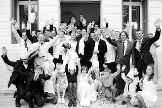 photo de mariage à la mairie du beausset