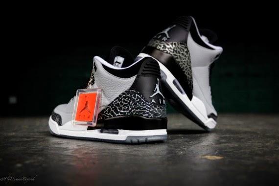 "Nike Air Jordan 3 ""Wolf Grey"""