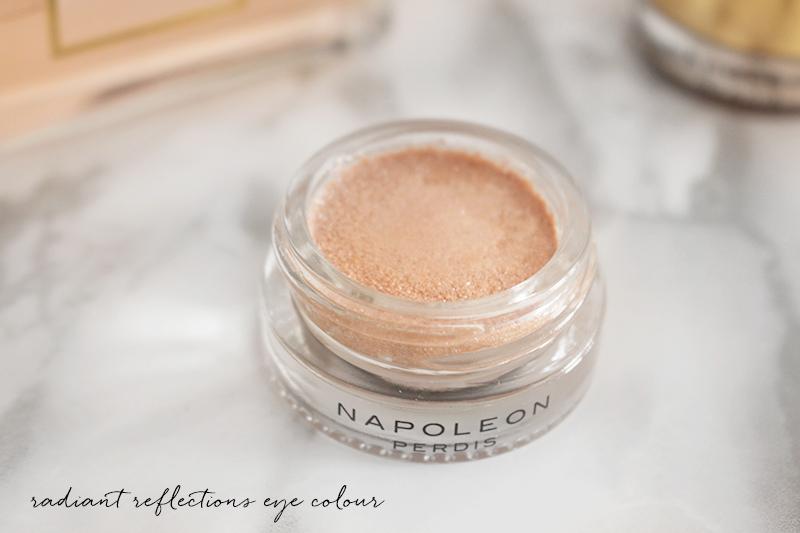 Australian beauty blog, Napoleon Perdis review, radiant reflections eye colour