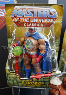 Mattel Matty Collector 2013 Toy Fair Display - Masters of the Universe MOTU Classics Strobos figure