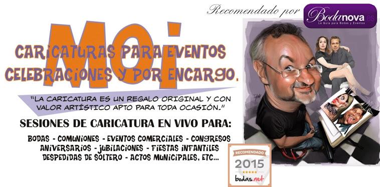 MOI Caricaturas.BODAS,EVENTOS COMERCIALES,COMUNIONES,ENCARGOS. Córdoba.Sevilla.Málaga. Cádiz.