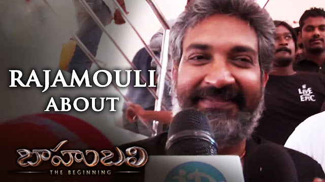SS Rajamouli Response on Baahubali Movie | Prabhas | Rana | Anushka