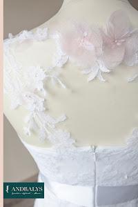 Robe de mariée courte Physalis