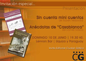 INVITACION DE DANIEL GRECO