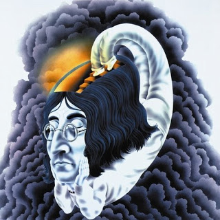 artwork poster of john lennon
