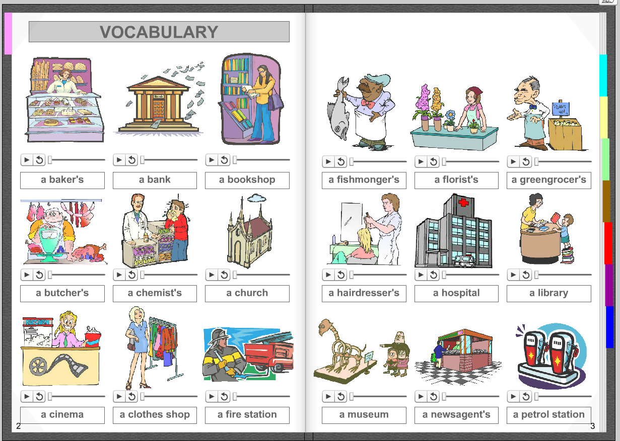 Study the following (següent) vocabulary lessons
