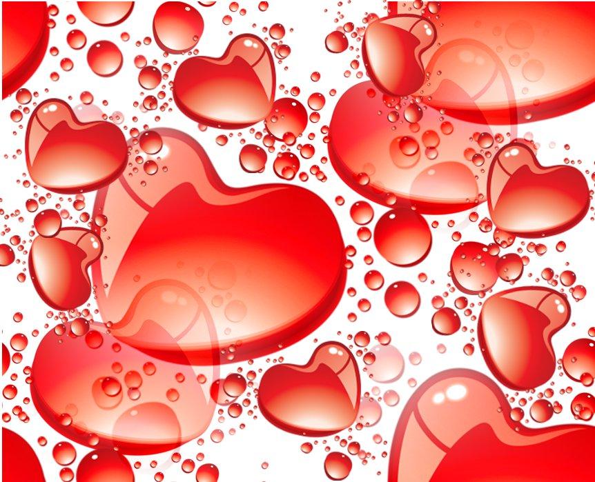 ZOOM DISEÑO Y FOTOGRAFIA: fondos con corazones para san valentin