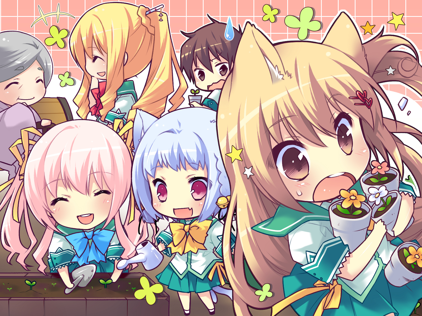 Chibi Group Picture by ~TheDragonCat on deviantART - Anny Imagenes!
