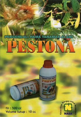 """pestona pengendali hama organik wereng kutu ulat natural nusantara distributor nasa"""