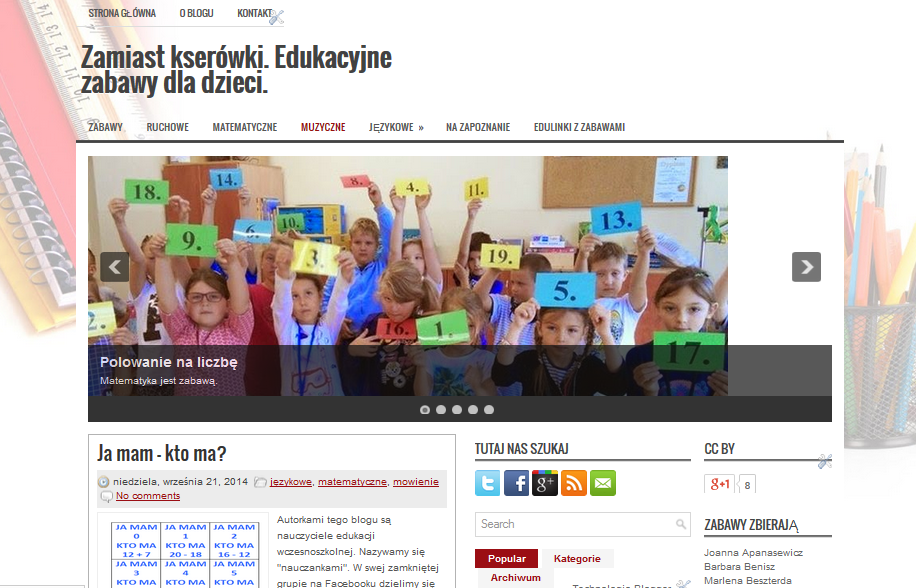 http://zamiastkserowki.blogspot.com/