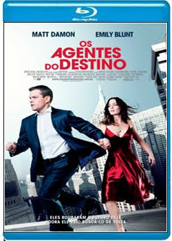 Filme Poster  Os Agentes do Destino BDRip XviD Dual Áudio & RMVB Dublado