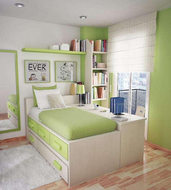 зеркало в дизайне маленькой комнаты для подростка девочки фото