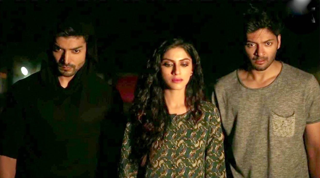 Gurmeet, Sapna & Ali for Khamoshiyan Trailer announcement