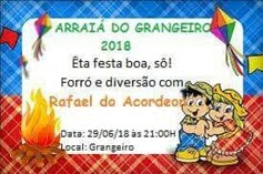 ARRAIÁ DO CLUBE RECREATIVO GRANGEIRO