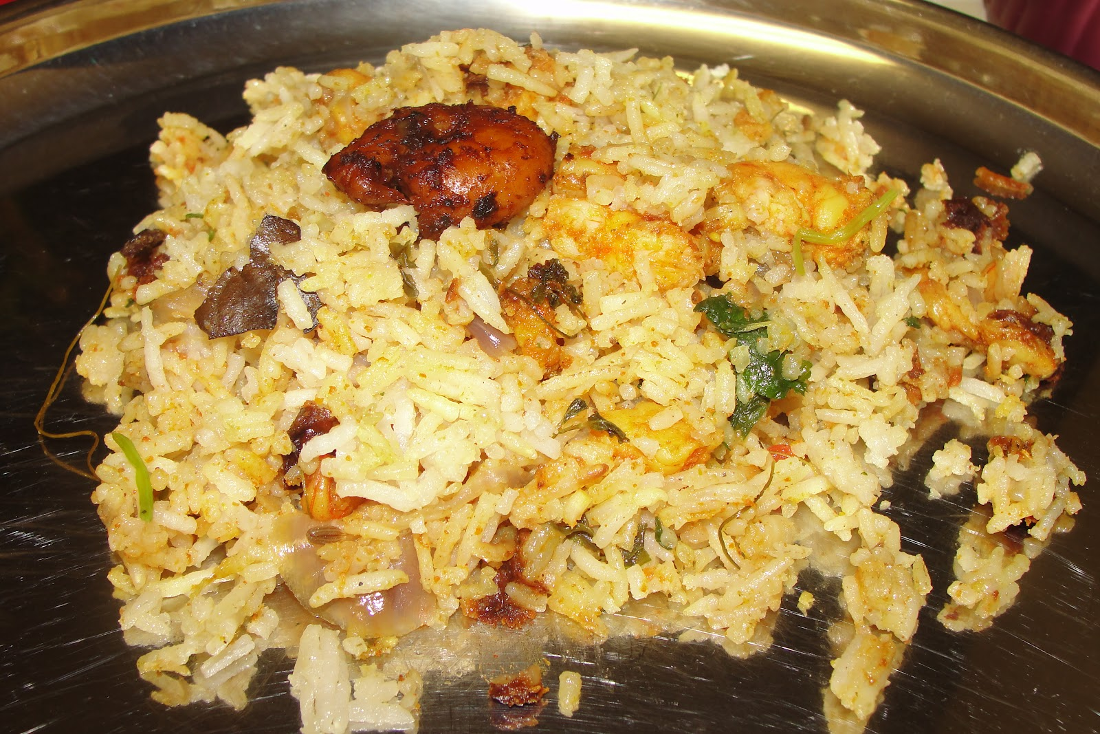 Shrimp Biryani Recipe — Dishmaps