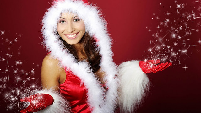santa girl pictures