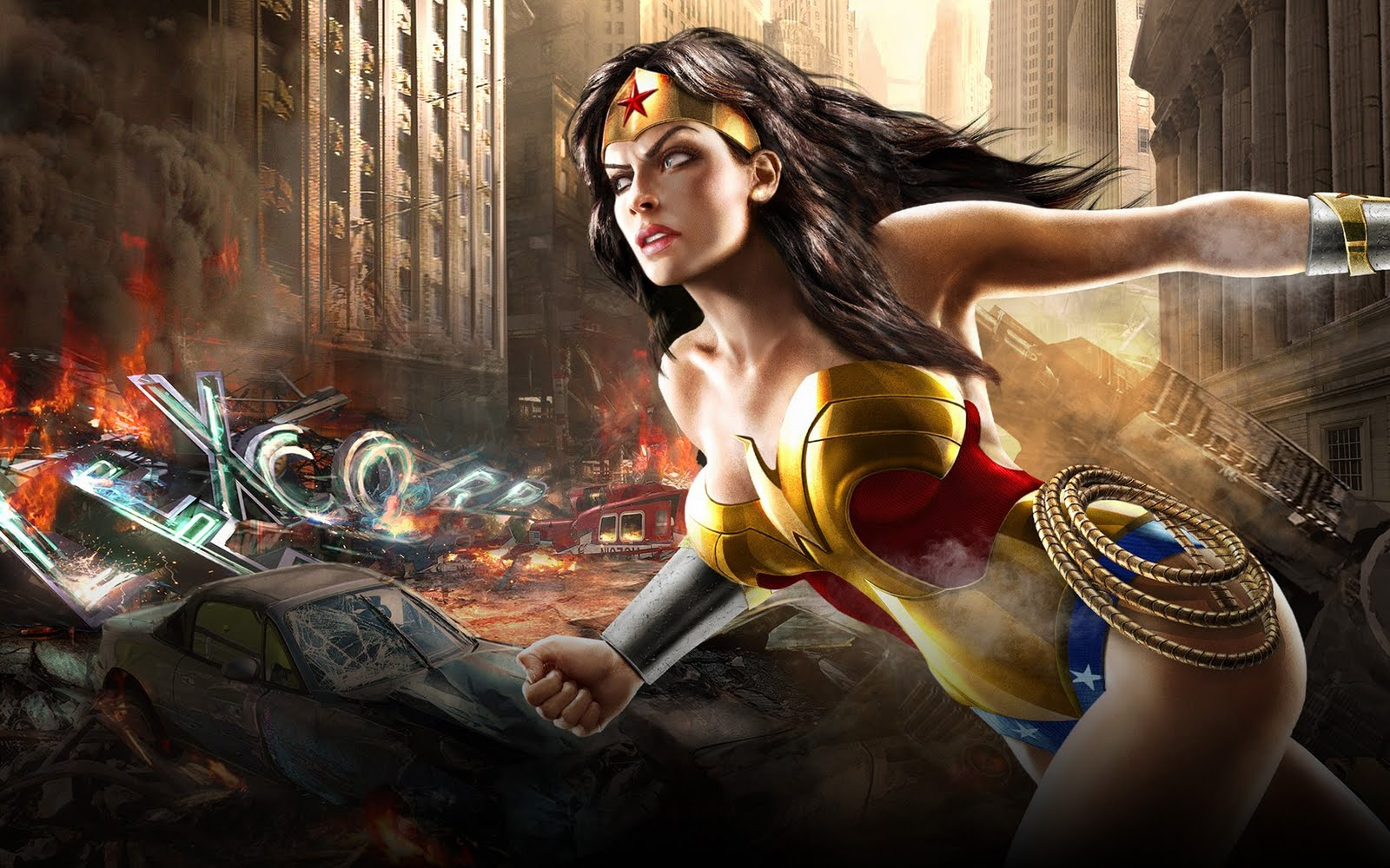 Dc Universe HD & Widescreen Wallpaper 0.730002674335732